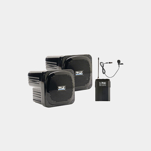 Small Sound System w/Lapel Microphone