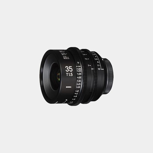 Sigma Cine 35mm T1.5 FF (Canon)