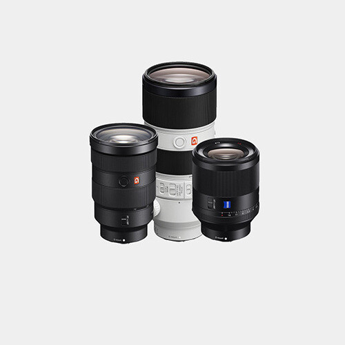 Sony Wedding Lenses (E-Mount)