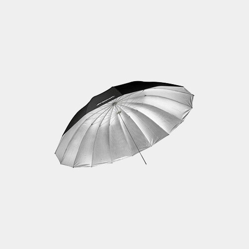 7' Parabolic Umbrella (Silver)