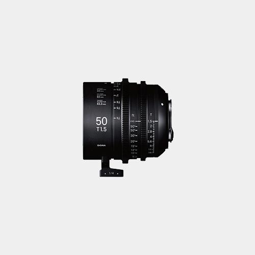 Sigma Cine 50mm T1.5 FF (Canon)