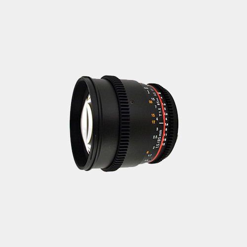 Rokinon 85mm T1.5 (E-Mount)