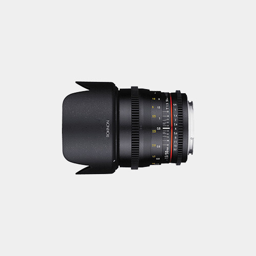 Rokinon 50mm T1.5 DS (MFT Mount)