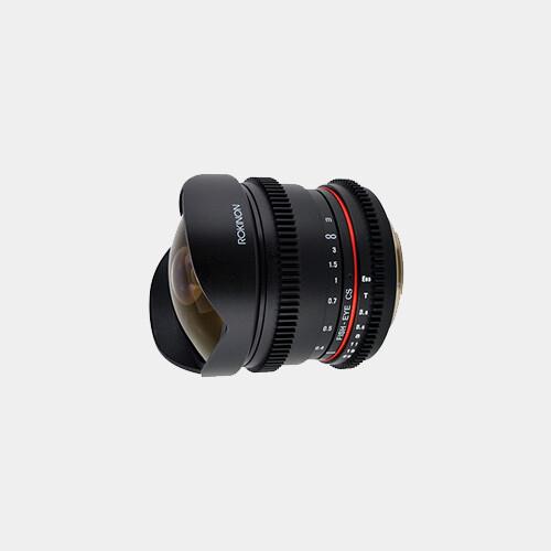 Rokinon 8mm T/3.8 Fisheye (Nikon F)